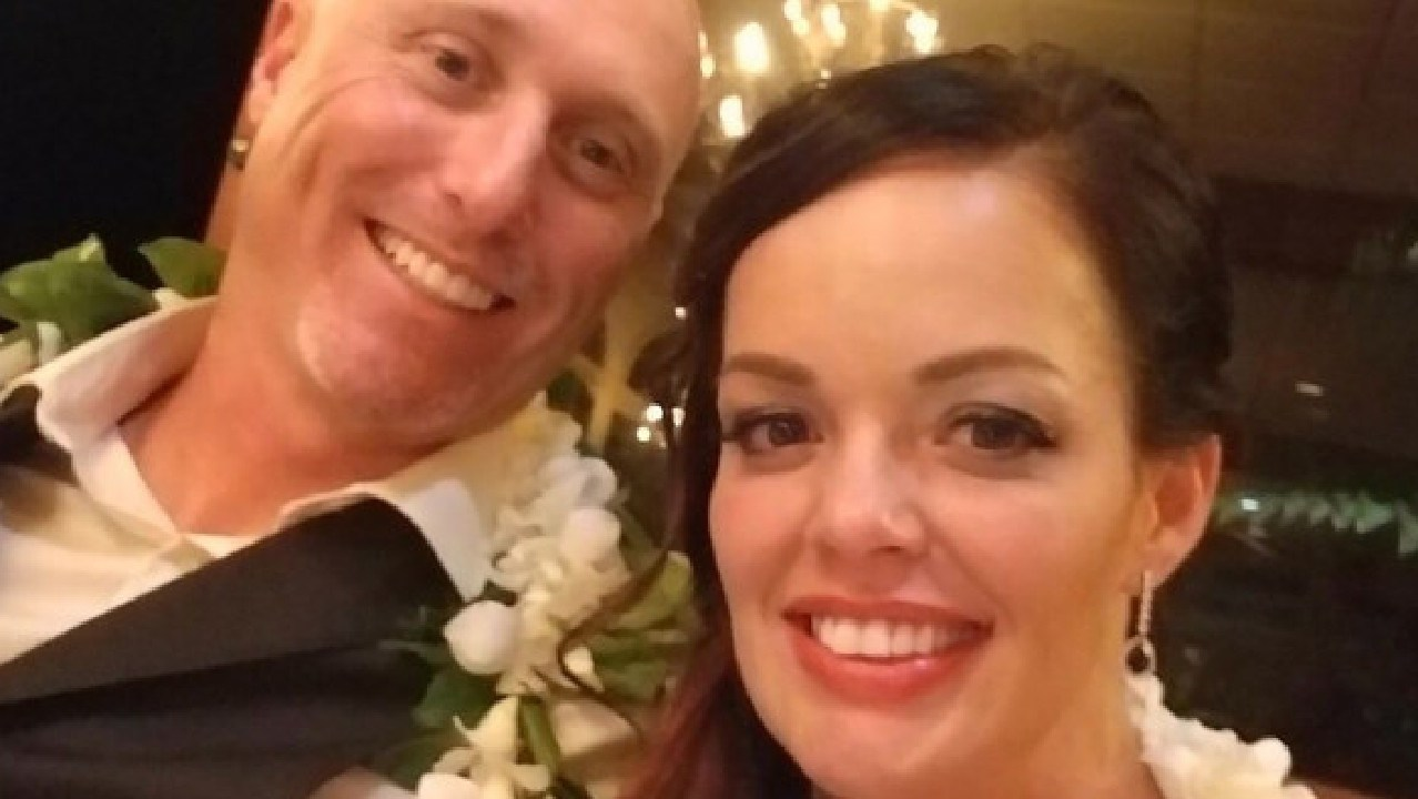 Nikki and her husband Will, before the incident occurred. Picture: GoFundMe