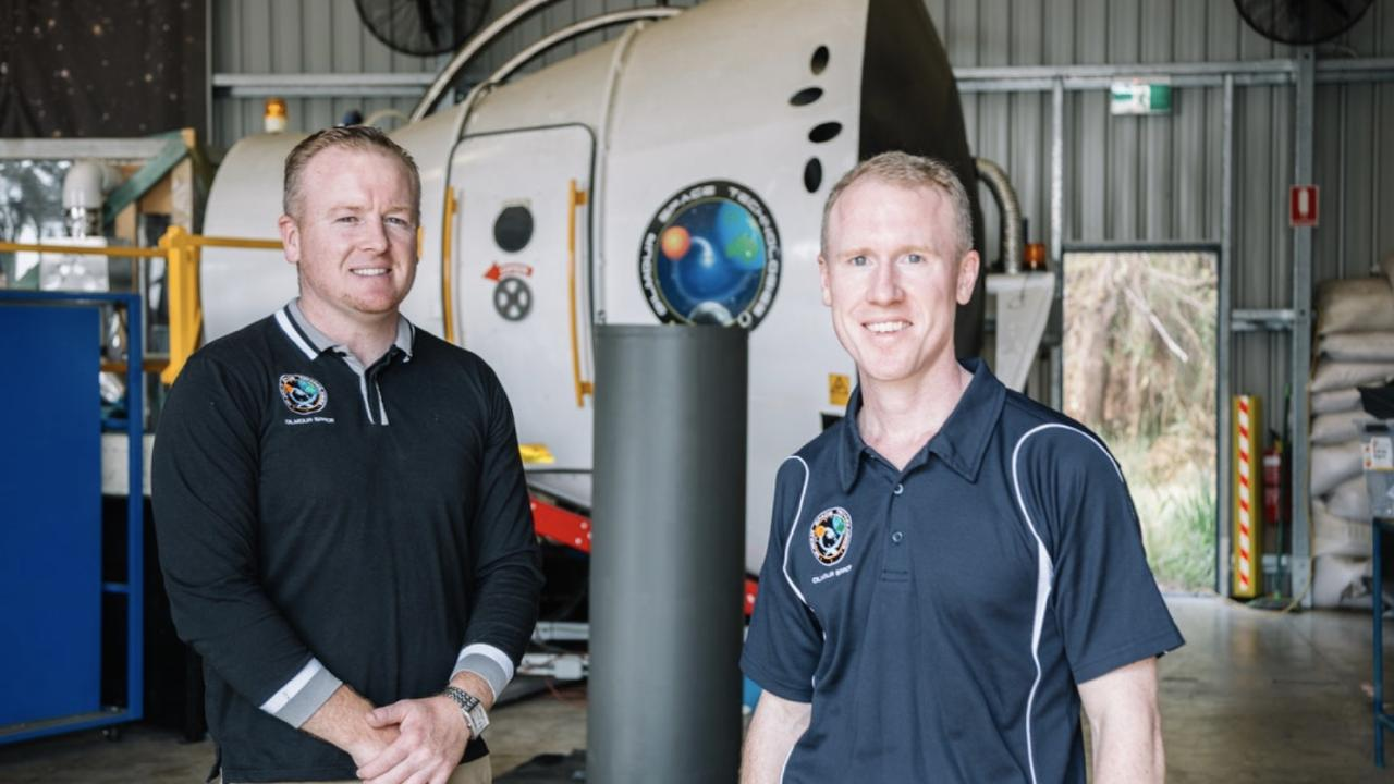 Gilmour Space Technologies. James Gilmour and Adam Gilmour
