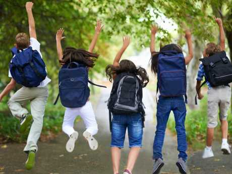 Kids are more active while at school. Picture: iStock