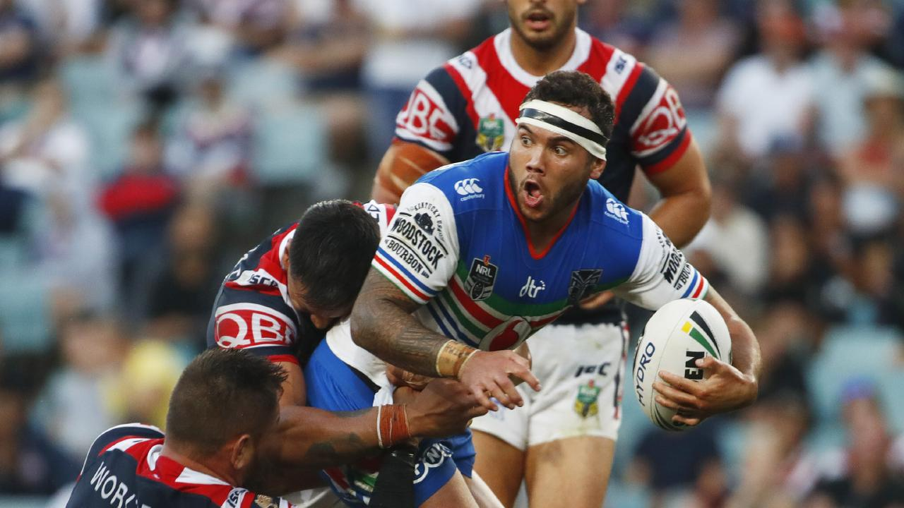 Dally M interchange player of the year Jazz Tevaga has re-signed with the Warriors. Picture: Daniel Munoz