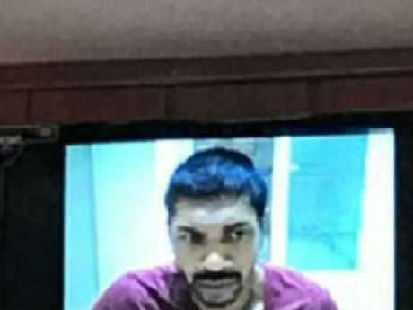 Neil Prakesh appeared via video link in a Turkish court.