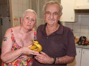 Couple finds needle in banana