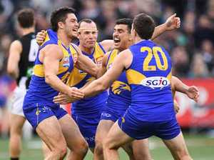 West Coast win AFL grand final after Magpies choke