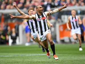 Defeated Magpie Travis Varcoe salutes late sister Maggie