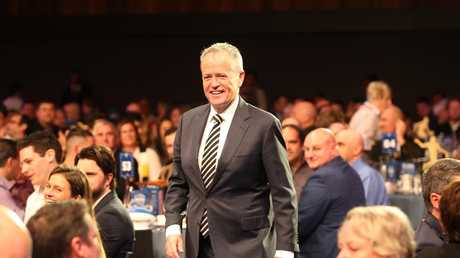 Bill Shorten is a Collingwood fan. He worked part-time as a ground attendant when he was at university. Picture: David Crosling/AAP