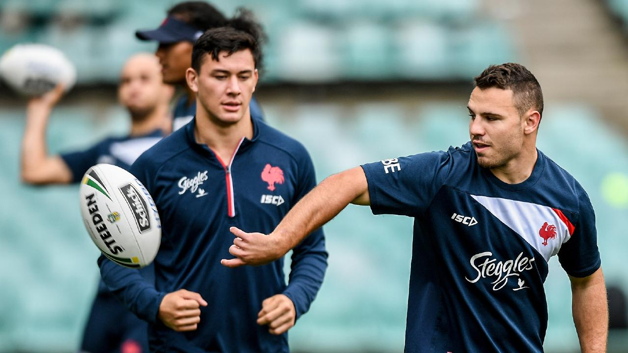 It's expected halfback Sean O'Sullivan won't be Cronk's replacement if the star halfback is ruled out. Picture: Brendan Esposito/AAP