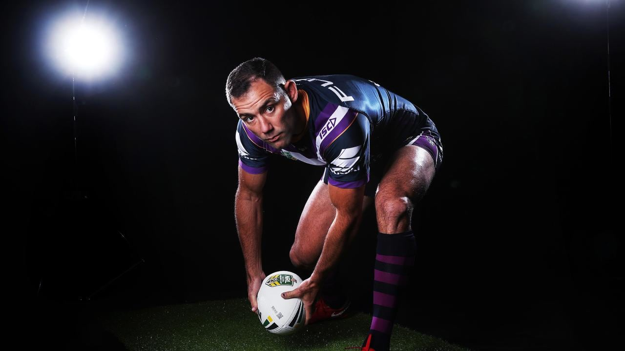 Johnathan Thurston says Cameron Smith will be the difference in the grand final. Picture. Phil Hillyard