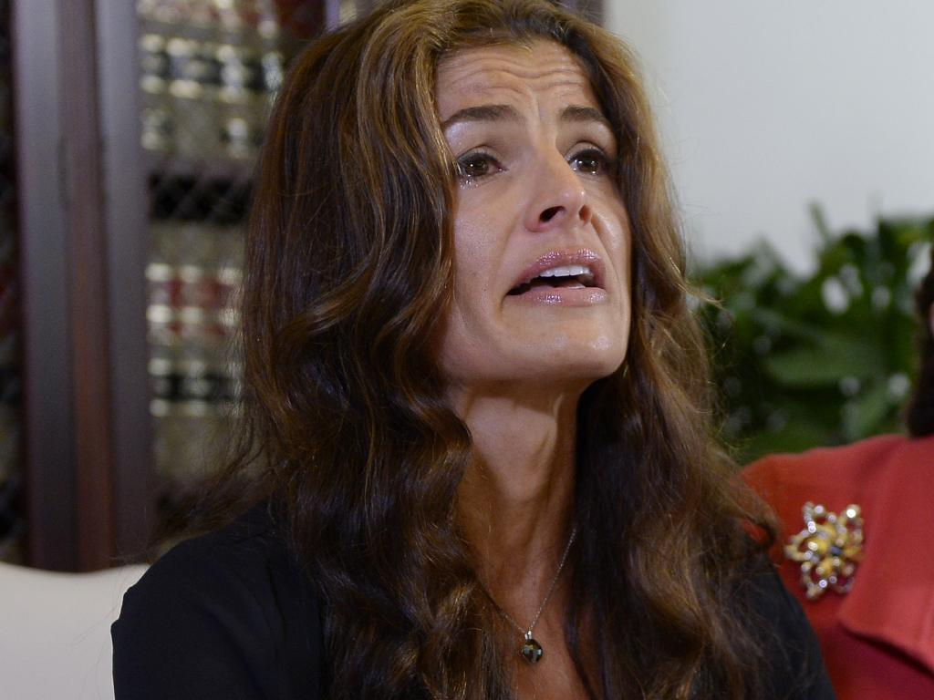 Former Mrs America Lisa Christie says Cosby tried to rape her in a hotel room. Picture: Kevork Djansezian/Getty Images