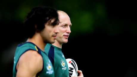 Thurston rates Smith and Darren Lockyer as the best he's played with. Picture: Gregg Porteous