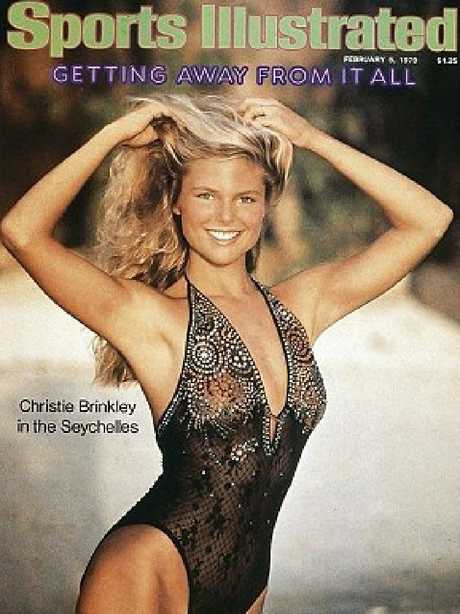 Christie Brinkley's 1979 Sports Illustrated swimsuit cover.