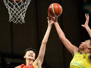 Cambage destroys China as Opals reach World Cup semis