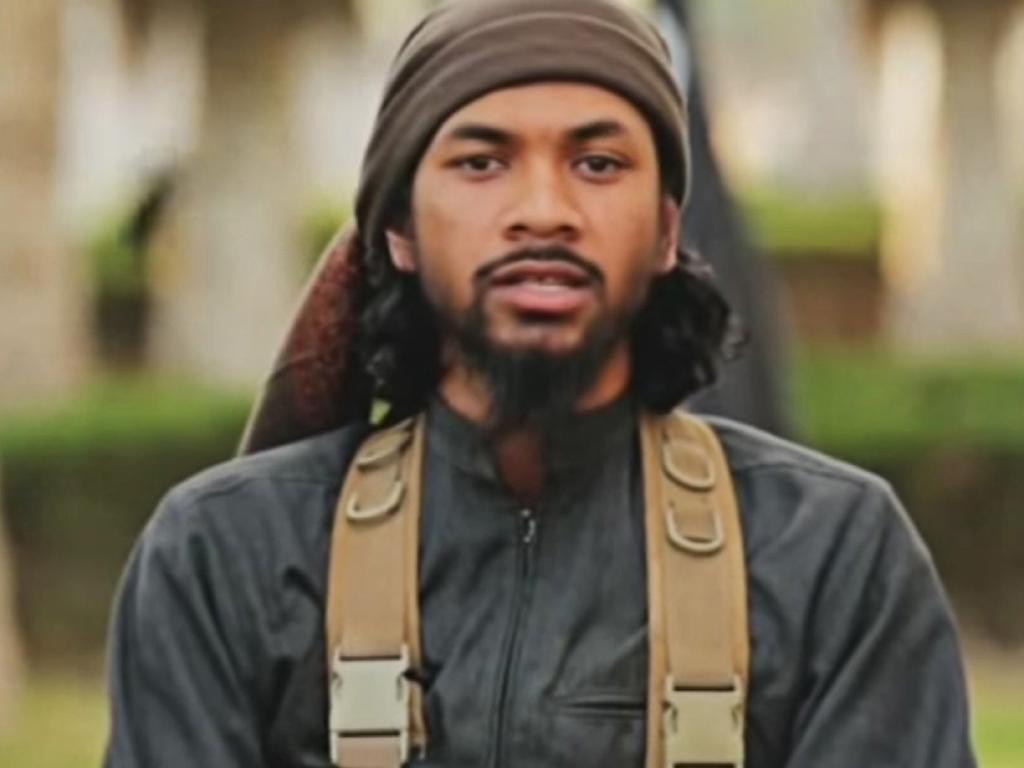 Australian-born Islamic State terrorist Neil Prakash.