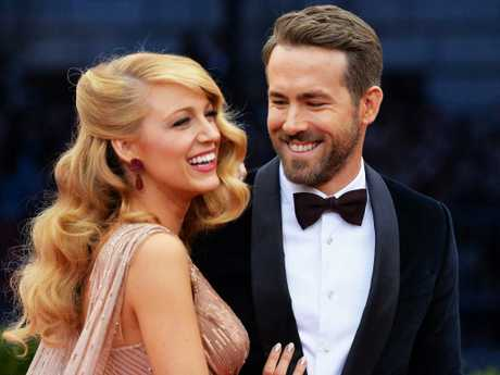 Blake Lively and Ryan Reynolds are one of the wittiest couples on social media from Hollywood. Picture: Getty