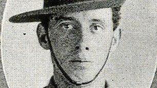 CYRIL PETTY: Young Gladstone soldier had lied about his age in order to go to war in 1915