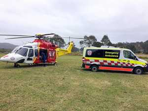 Westpac chopper airlifts man, 69, to hospital