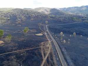 Rain for fire-ravaged Woolooga