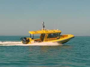 Inskip rescue of swamped boat