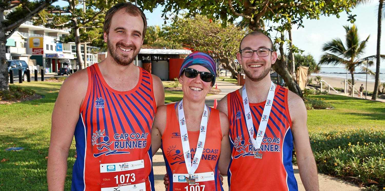 Christian Bennett, Mischa Bongers and Jake Duivenvoorden .