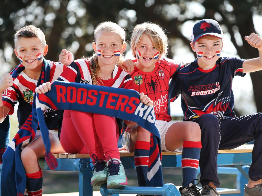 Young Roosters fans are pumped.