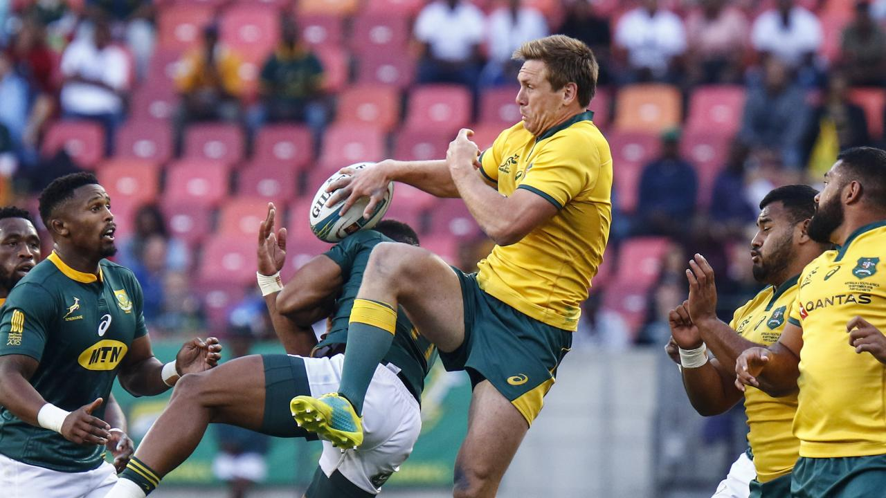 The Wallabies continue their losing streak, defeated by South Africa's Springboks.  Picture:  AP