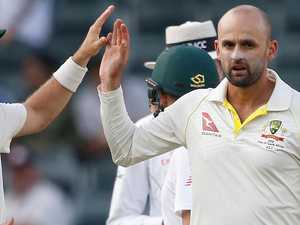 Five-wicket Lyon tunes up for Pakistan Tests