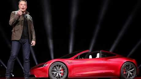 The SEC charged Musk with fraud following a tweet which insinuated his intention to privatise the company. Picture: TESLA / REUTERS