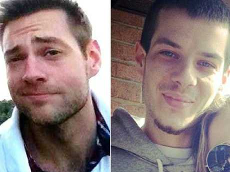 Killer playboys: Dellen Millard (left) and his friend Mark Smich. Picture: Facebook