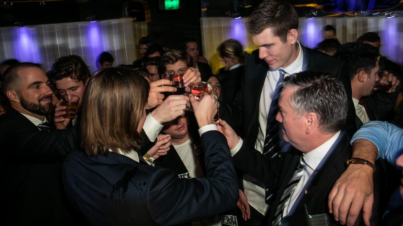 Collingwood post-Grand Final event at Bond Bar
