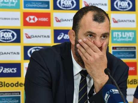 Australian coach Michael Cheika . Picture: AAP Image