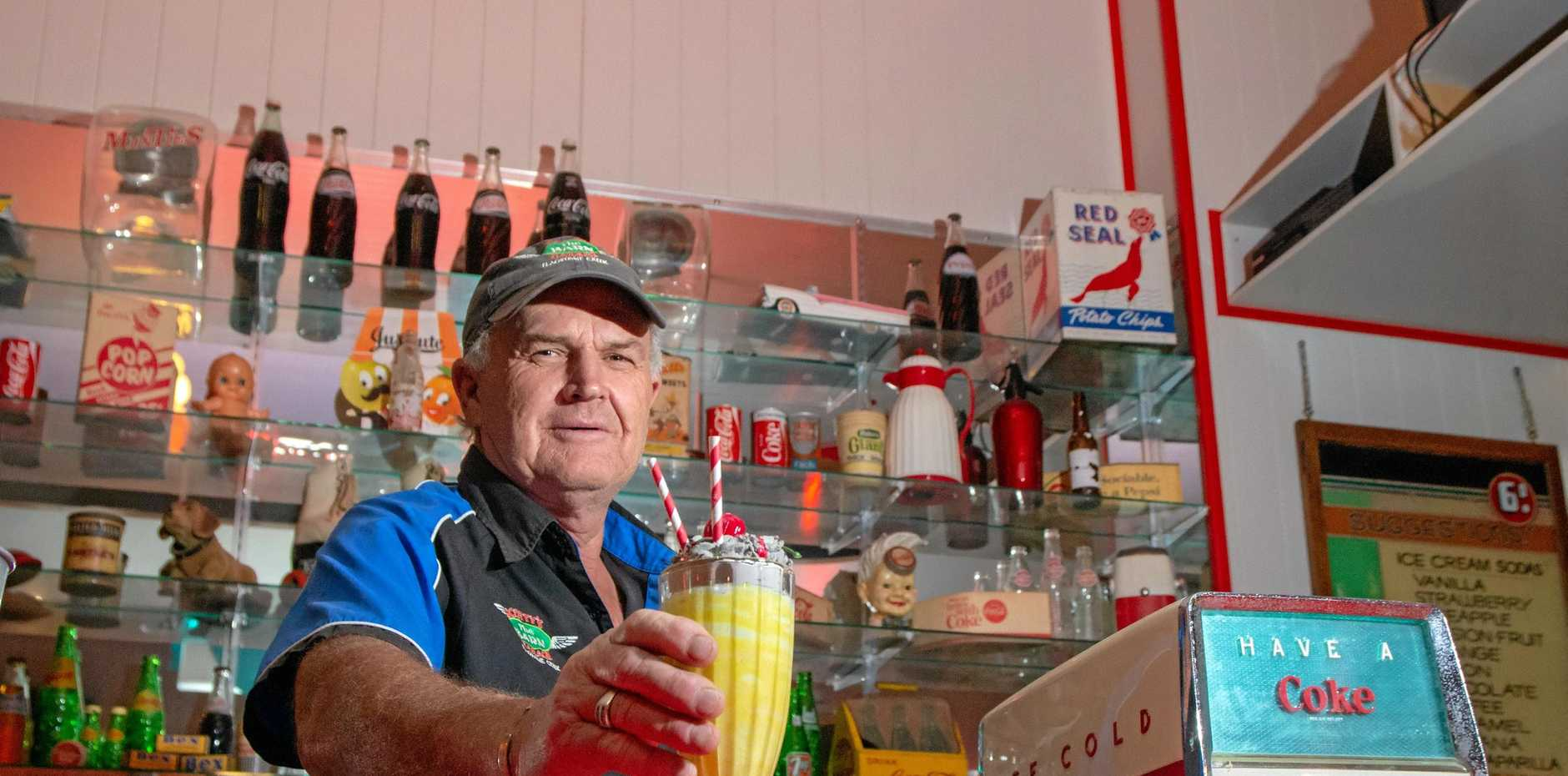 Sarah Ross and Scott Wright have operate The Barn and Scotty's Garage in Flagstone creek since 2008.  The business was named the 2017 Lockyer Business of the Year.