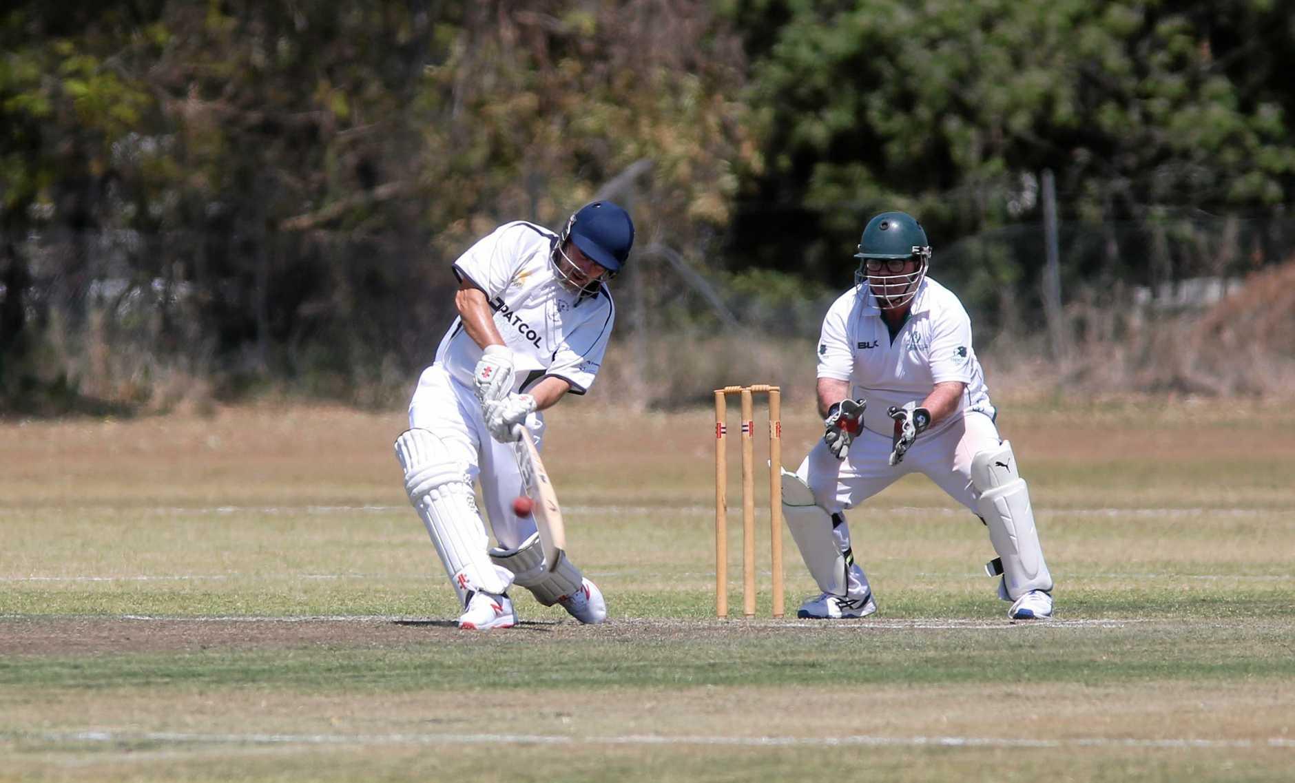 Cricket: Brothers' Nathan Way.