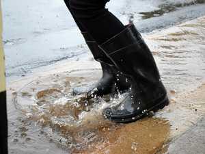 RAINFALL: Storm brings a few drops for Gladstone
