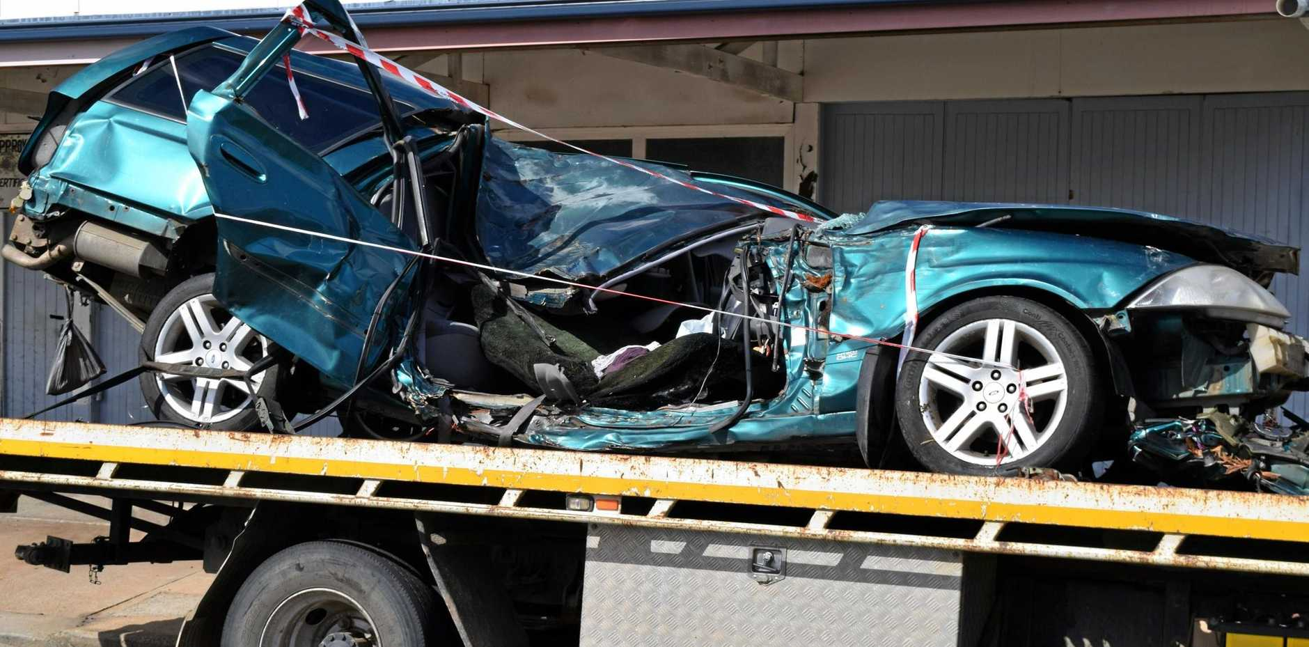 Police are investigating a serious, single vehicle traffic crash that occurred in Gayndah.