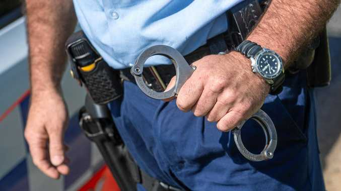 The Airlie Beach man has been charged with committing a public nuisance offence on licensed premises.