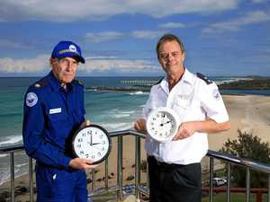 Time not an issue for Point Danger crew