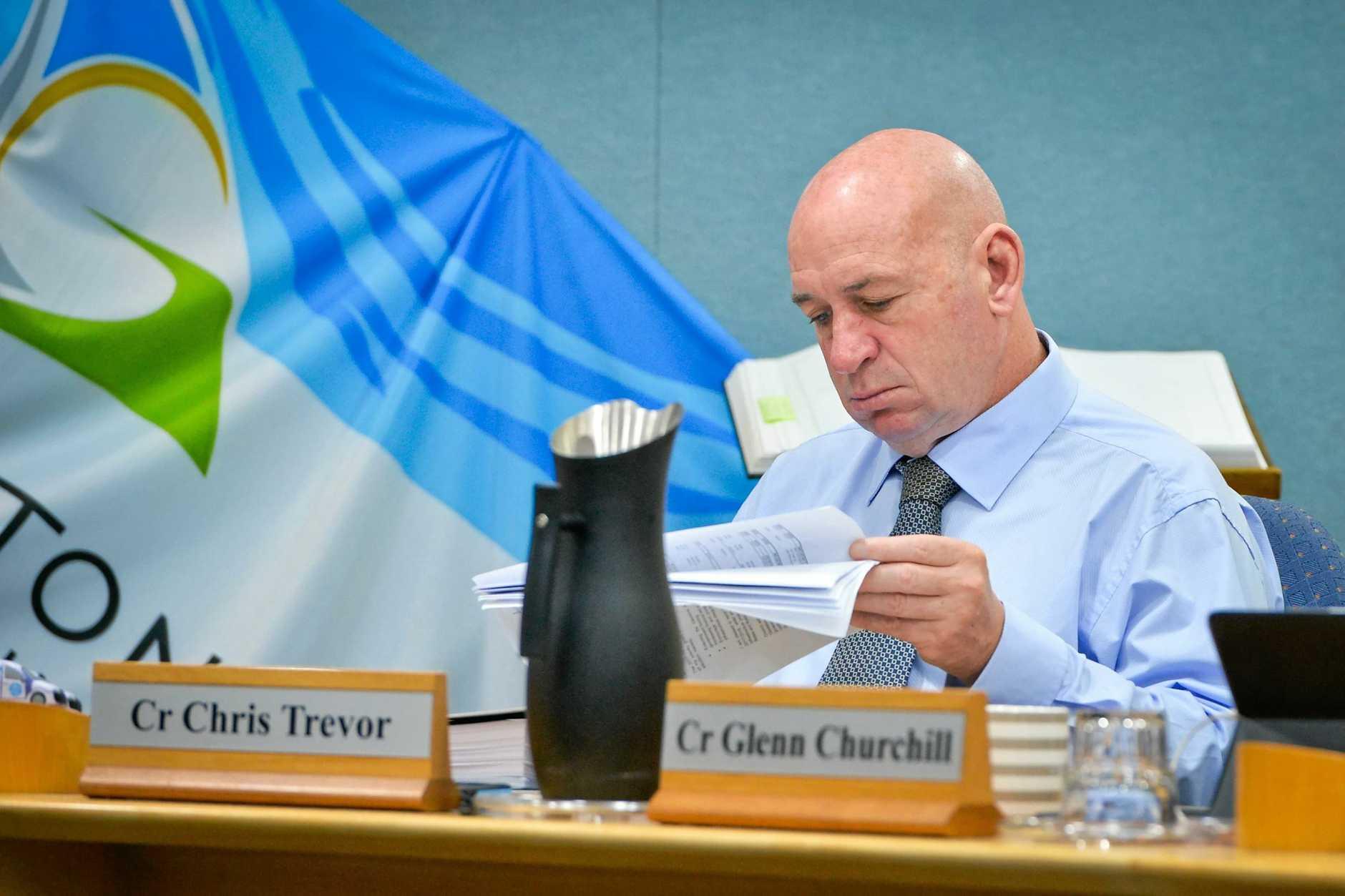 Deputy Mayor Chris Trevor.