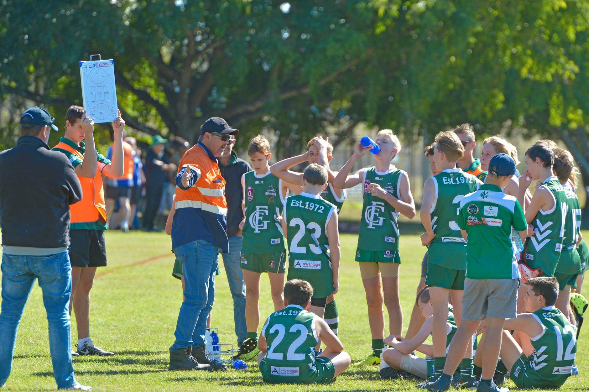 CLUB CHANGE: Gladstone Mudcrabs AFL club will be holding a special general meeting to discuss the process of a possible  rebranding of the club.
