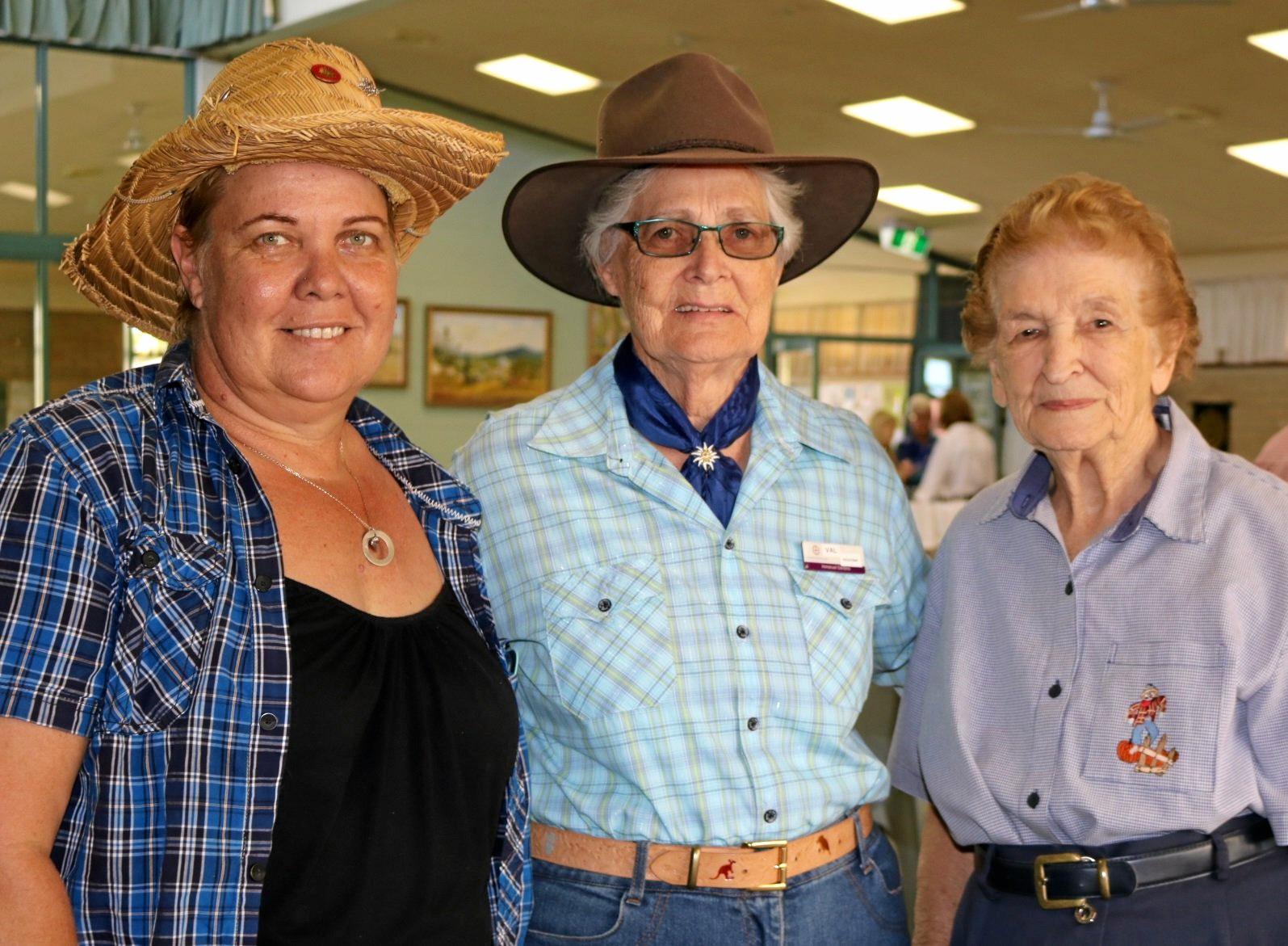 Karen Hawkins, Val Brand and Elaine Wishart.