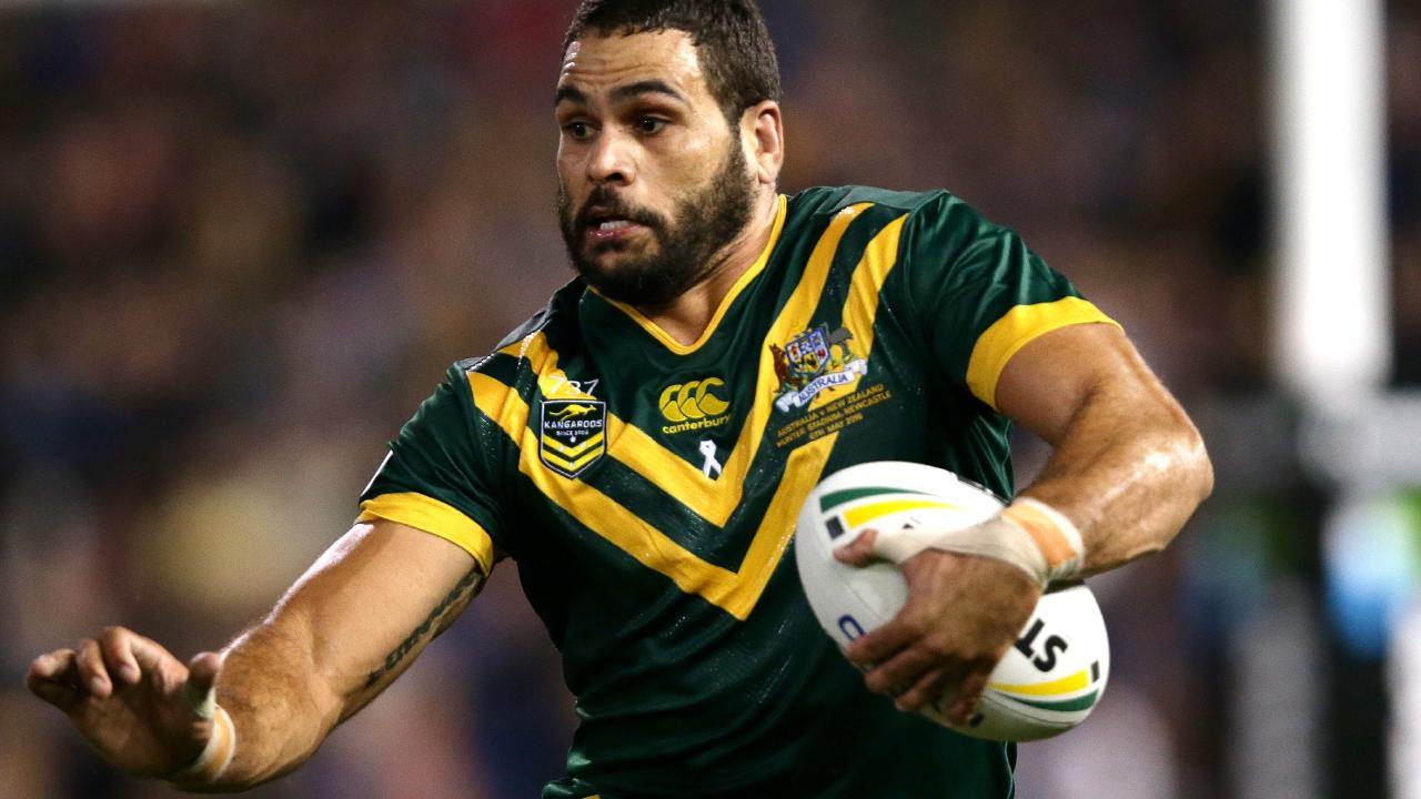 Greg Inglis will captain the Kangaroos against New Zealand and Tonga. File photo