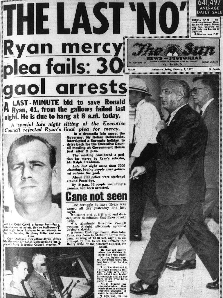 The Sun front page on February 3, 1967.