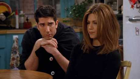 Ross and Rachel's excruciating breakup scene.