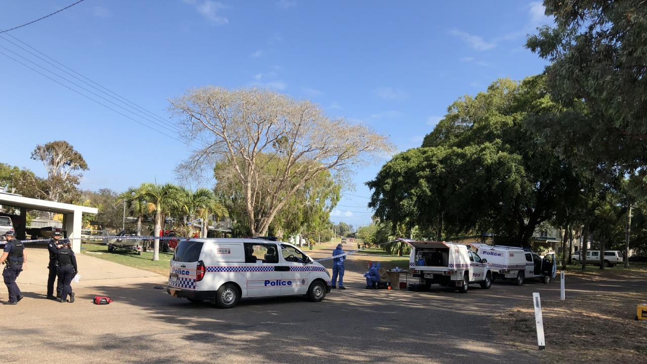 Police are treating the death of two people as suspicious. Picture: Shannen McDonald