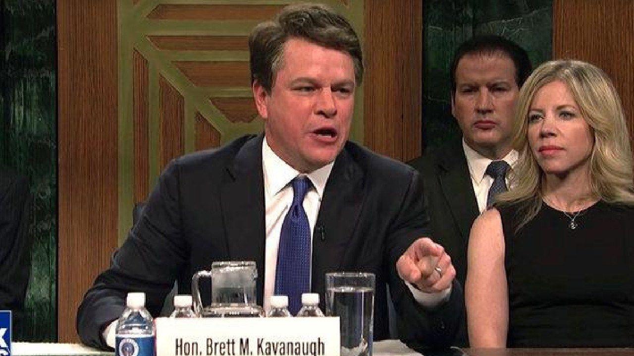 Damon raged on the season premiere of Saturday Night Live