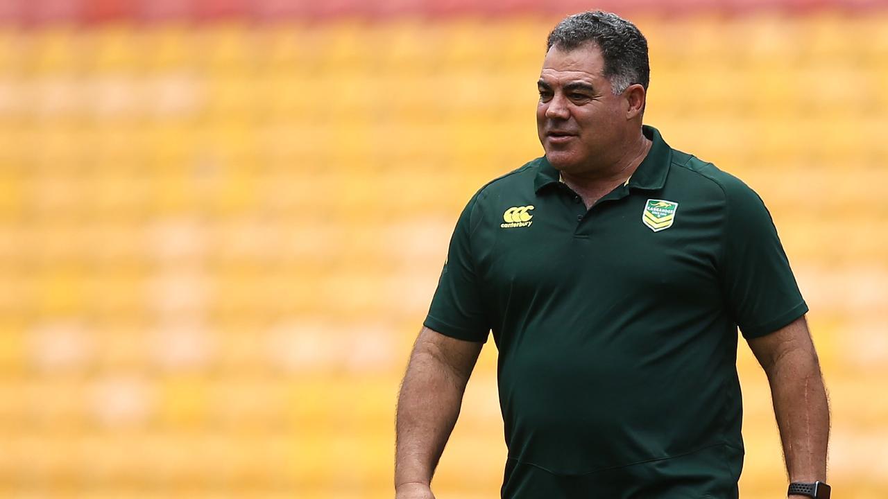 Kangaroos coach Mal Meninga. Picture: Getty Images