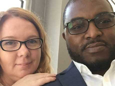 Australian Lisa Cunningham and her American husband Germayne, who have both been charged with the first-degree murder of their daughter Sanaa.