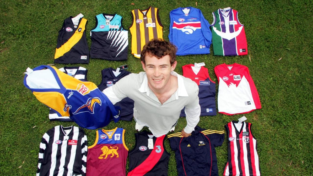 Shannon Hurn after being drafted to the Eagles.