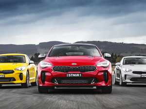 Less powerful Kia Stinger still strong on the heart strings