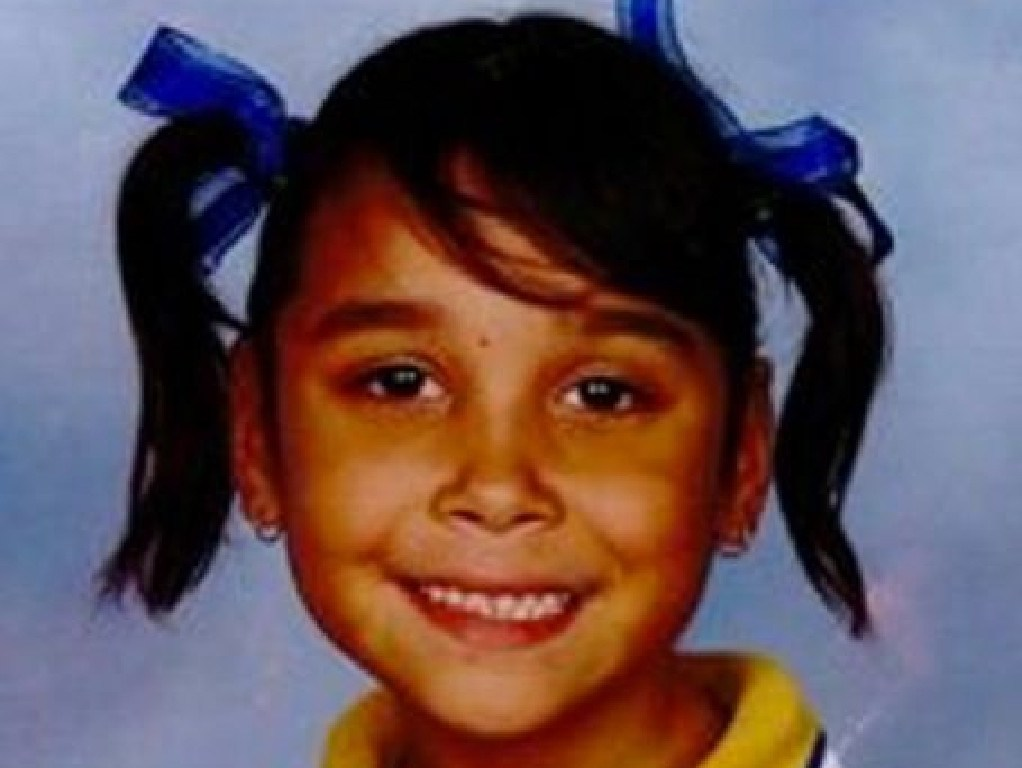 The last photo of Layla Leisha who was abducted more than four years ago.
