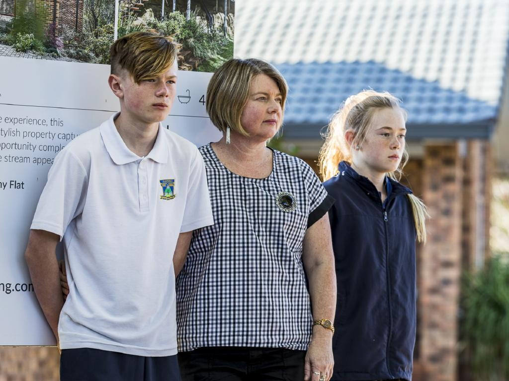 Tracey Todd says she and her family could end up with nothing. Photo: Anna Warr
