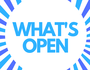 What's open New Year's Day